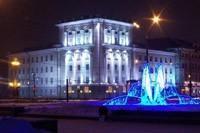 освещение фасадов в Екатеринбурге