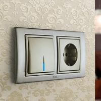 Установка выключателей в Екатеринбурге. Монтаж, ремонт, замена выключателей, розеток Екатеринбург.